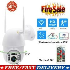 1080P WIFI IP Camera Wireless Outdoor CCTV HD Home Security IR Cam US WHITE