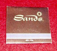Vintage Las Vegas  Sands Hotel Matchbook Unstruck