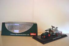 Schuco 1/43 Tracteur Hanomag R40 1942 + moissonneuse Class Super. Réf. 02785.