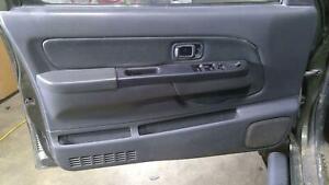 2003 Nissan Frontier Crew Cab Left *Driver* Front Power Door Trim Panel (Code K)