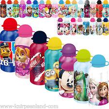 Disney Kinder Alu Trinkflasche Aluflasche Sportflasche 500 ml Aluminium Flasche