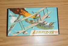 1/72 Scale Model Kit Airfix-72 Airplane Supermarine Walrus Ii Air-Sea Aircraft