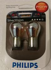 Philips Silver Vision,Silberfarbene Design Blinkerlampen PY21W