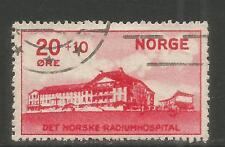 Norway 1931 Radium Hospital semipostal--Attractive Medicine Topical (B4) used