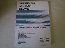 Mitsubishi Minicab English Service Manual Shop repair Manual U41 U42