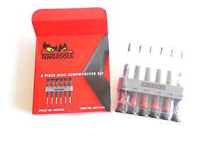 TENG Strumenti 6 Pezzi Mini Cacciavite Set MDM706 Art. 68940105
