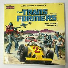 The Transformers The Great Car Rally  Marvel Books 1984