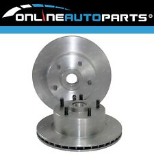 2 Front Disc Brake Rotors Commodore VP 6cyl V6 11/92-93 Holden 1992 1993 290mm