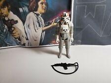 AT-AT Driver + Original Weapon Vintage Star Wars Figure!