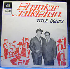 TITLE SONGS SHANKAR JAIKISHEN LP Record Bollywood appears UNPLAYED