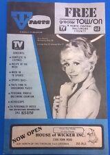 TV FACTS Baltimore-Washington listings magazine (May 24 1975) Rona Barrett cover