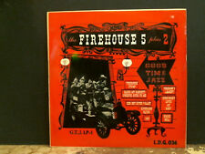 """FIREHOUSE 5 PLUS 2  Good Time Jazz    10""""  LP   Great !"""