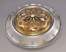 Elegant Tiffany & Co Sterling Silver Center Bowl with Orig Insert & Flower Frog