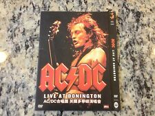 RARE DIGIPAK MADE IN GERMANY FOR CHINA AC/DC LIVE AT DONINGTON IMPORT DVD HTF!