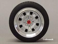 """99026-13 Alufelgen 1:18 Fiat Campagnolo-Design 13"""" Felge p inkl. Logo"""
