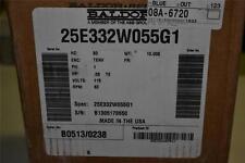 ONE NEW BALDOR 1 PHASE 0.5 HP MOTOR 115VAC 83RPM 25E332W055G1