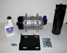 York to Sanden A/C Eight Groove Compressor Conversion Kit with Heavy Duty Seltec