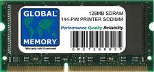 SDRAM 128 Mo imprimante 144-PIN RAM (001179MIU, ZMC128/A, KX-Clem 1,001025MIU, 1167352)