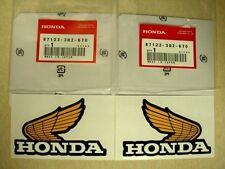 Honda Z50Jz Z50J Z50R XR80 XL100 XR100 Wing Stickers 87122-382-670 87123-382-670