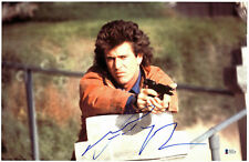 Mel Gibson Lethal Weapon Authentic Signed 11x17 Photo Autographed BAS #D43210