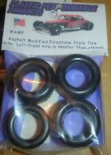 PPP AMF NASCAR 1/25 FIRESTONE ASPHALT MODIFIED TREAD TIRES SET STOCK CAR MODEL