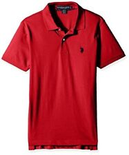 U.S. Polo Assn. Mens Slim Fit Solid Short Sleeve Jersey Shirt- Pick SZ/Color.
