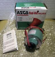 """ASCO 8211D2  480 Volt / 60 HZ  1/2""""   2-way solenoid valve , New Old Stock"""
