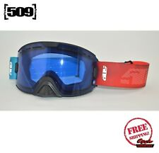 509 KINGPIN SNOWMOBILE GOGGLES SIREN SONG WITH BLUE LENS SNOW BOARD SKI NEW