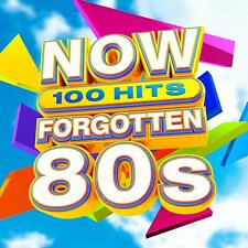 NOW 100 HITS FORGOTTEN 80s (Various Artists) 5 CD Set (2019) (New & Sealed)