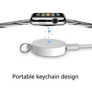 New Keychain Magnetic Wireless Charger Qi Charging Dock Station for Apple Watch