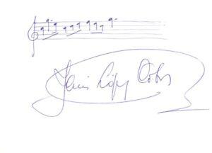 JESUS LOPEZ-COBOS --- original signiert - 5#14