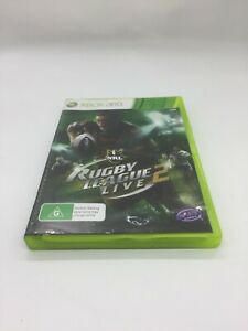 XBOX 360 GAME RUGBY LEAGUE LIVE 2