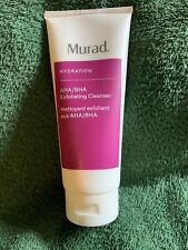 Murad Hydration Aha/Bha Exfoliating Cleanser 6.75oz - New & Sealed