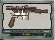 Star Wars Galactic Files 2 Base Card #614 Han Solo's Modified DL-44