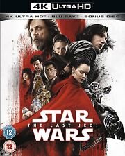 Star Wars The Last Jedi 4K UHD Ultra HD - Blu Ray - Brand New & Sealed