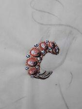 DESPRES Dessin original GOUACHE Boucles d'oreille rouge JOAILLERIE ART DECO 1930