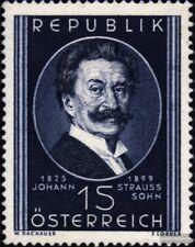 Österreich 934 (kompl.Ausg.) gestempelt 1949 J. Strauss