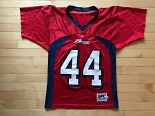 VTG Defunct Bakersfield Blitz Arena Football League Jersey Youth Sz M McCombs