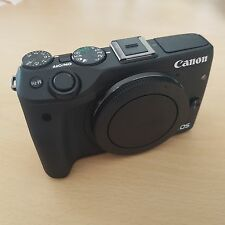 Canon EOS M3 24.0MP Mirrorless Digital Camera  BODY ONLY MINT A1 Condition Boxed