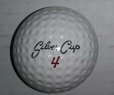 Vintage Dunlop Silver Cup Golf Ball Made in England