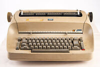 Vintage 1960s IBM Selectric Model 71 Electric Typewriter Beige PARTS REPAIR V14