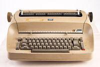 Vintage 1960s IBM Selectric Model 71 Electric Typewriter Beige PARTS REPAIR V14