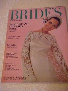 June/July 1966 THE BRIDE'S Magazine