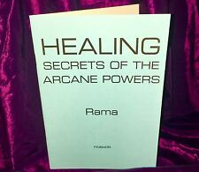 ARCANE HEALING SECRETS Finbarr Grimoire Magick Spells Occult Magick Witchcraft