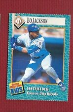 BO JACKSON 1989 SPORTS ILLUSTRATED FOR KIDS #75 ROYALS