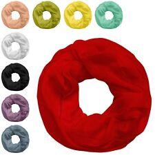 1 Loopschal in vielen Farben Loop Halstuch Schal