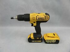 Dewalt DCD776 Cordless 18v Combi Drill With Two Batteries Clean Used Condition