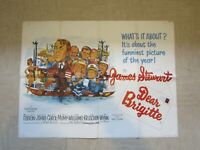 Vintage Movie poster - Original - Dear Brigitte - 101 x 75 cm -1965 James Stewar