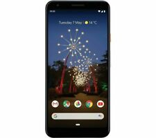 GOOGLE Pixel 3a XL 64GB Unlocked Android Smartphone - Black / White