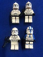 Lego Star Wars - X4 Clone Trooper Minifigures